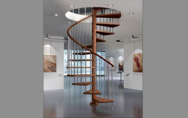 Scale a chiocciola scale a chiocciola per interni scale for Scala in legno dwg