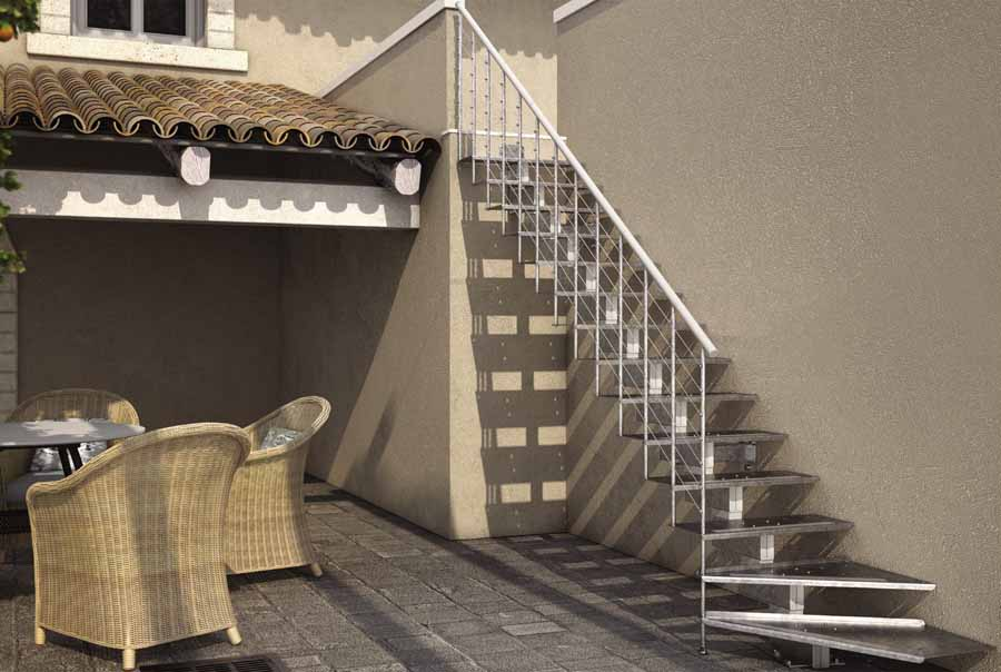 modern external staircases a suggestive entrance for your home